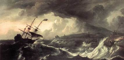 ships-at-sea-during-storm