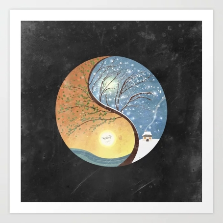 opposites-love-yin-yang-tree-summer-winter-2-prints